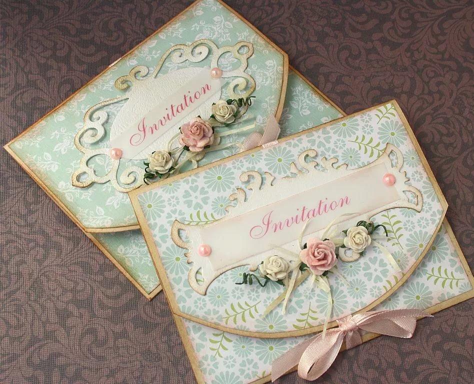 Приглашения на свадьбу скрапбукинг своими руками, для подружки приколы