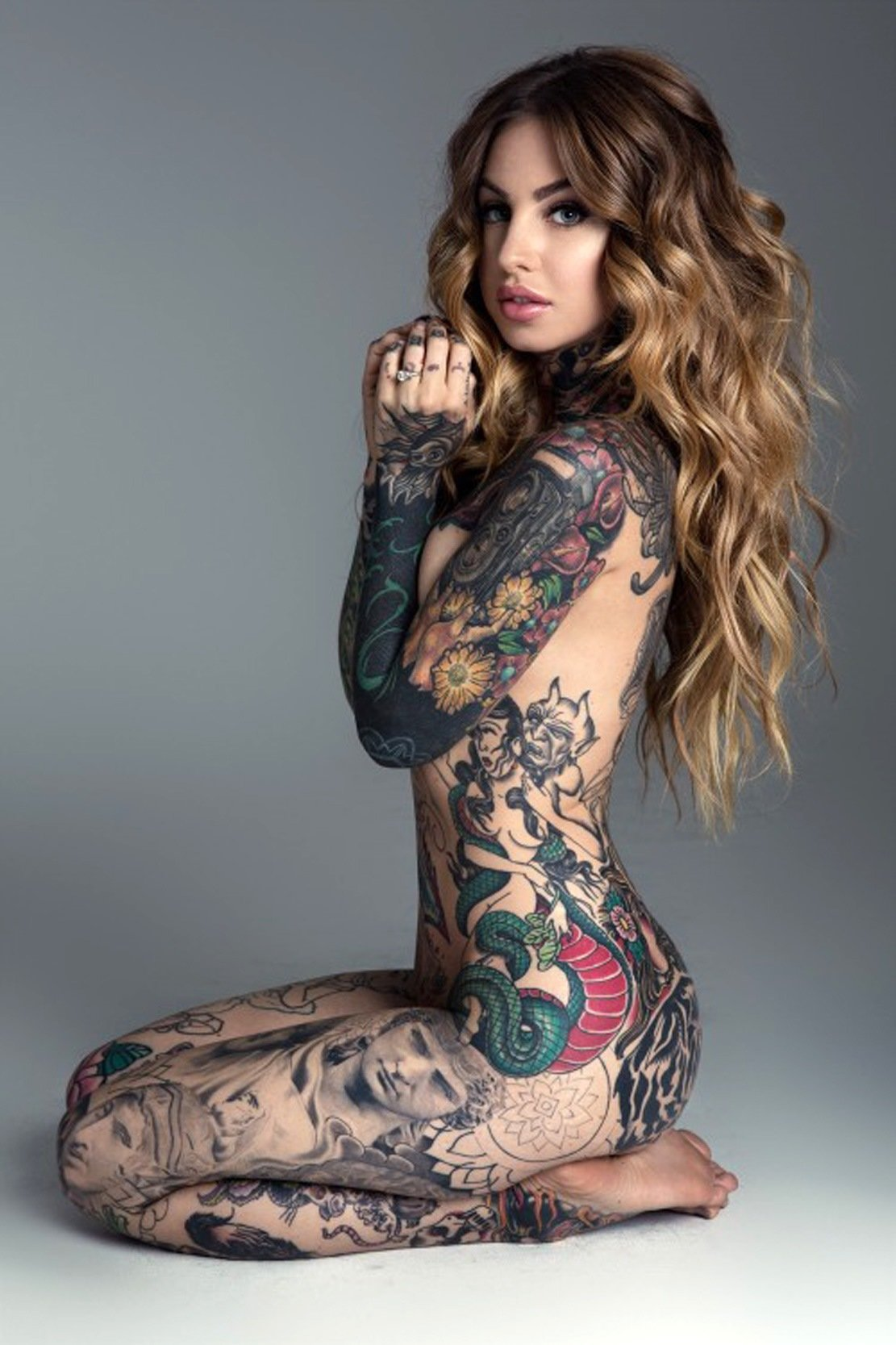 Tasteful tattoos of naked women