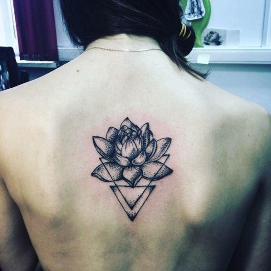 Лотос татуировка фото