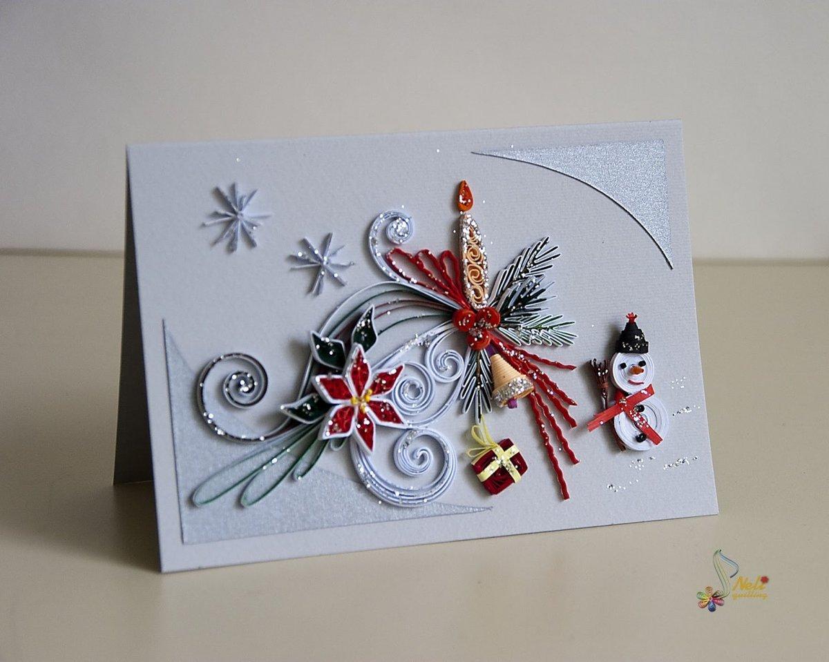 Необычные открытки своими руками с новым годом