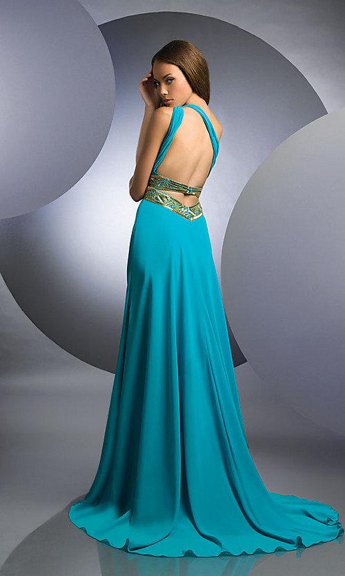 Картинки платье в пол с открытой спиной