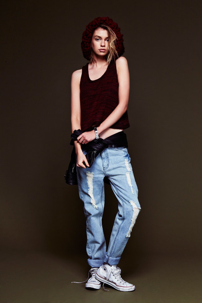 Фото в майке и джинсах фотосессия картинки