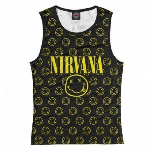 Женская майка 3D Nirvana Forever