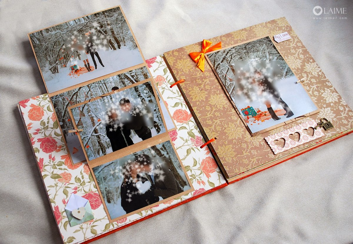 Фотоальбом с открытками
