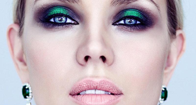 Как сделать вечерний макияж в домашних условиях для зеленых глаз 11