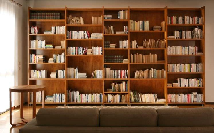 """Стенка в зал книжные полки в стиле арт деко"""" - карточка поль."""