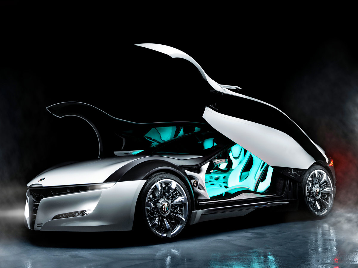 Open Alfa Romeo Concept Car Wallpaper Full Hd Backgrounds On Images