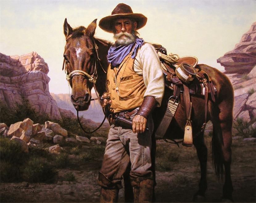 Ковбои на западе картинки