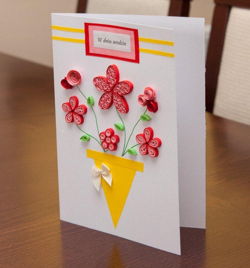 Живые открытки, красивые детские открытки своими руками