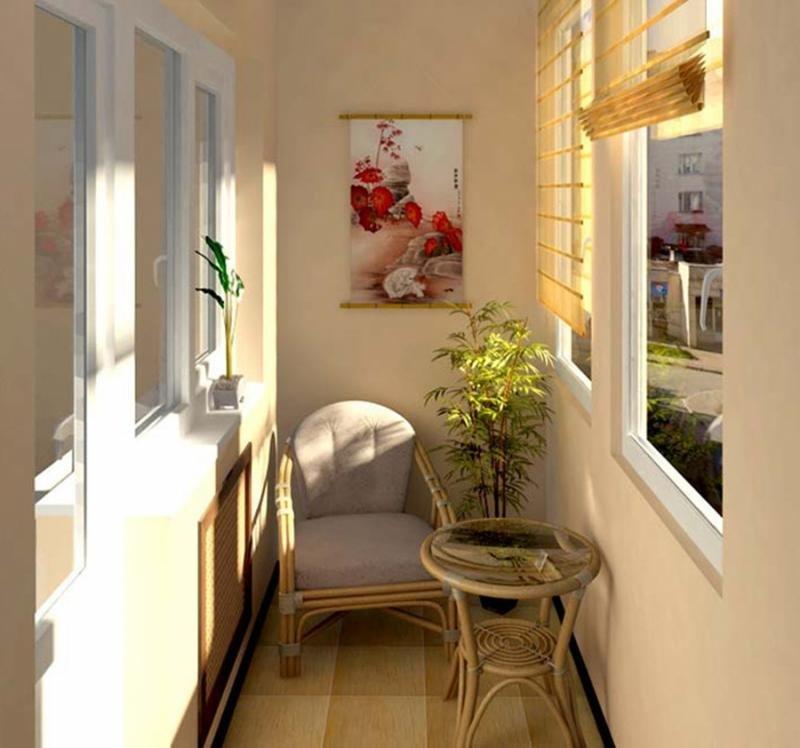 Основные стили и цвета в интерьере балкона и лоджии: 19 фото.