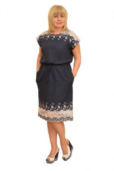 Модные платье 56 размера