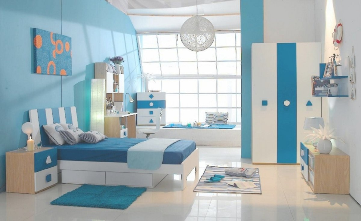 Color Schemes Shelving For Bedroom Walls Boys Paint Colors Boy Bedrooms