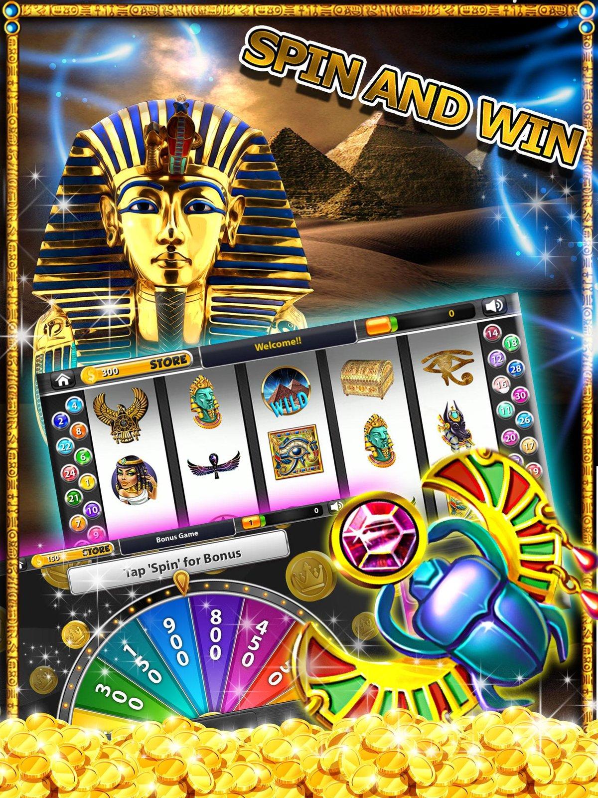 Играть в онлайн Казино Фараон