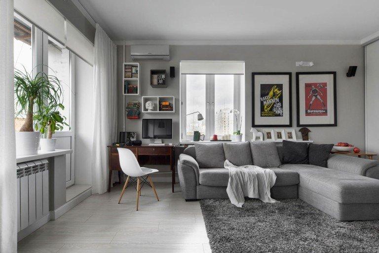 идеи по оформлению интерьера квартиры студии.