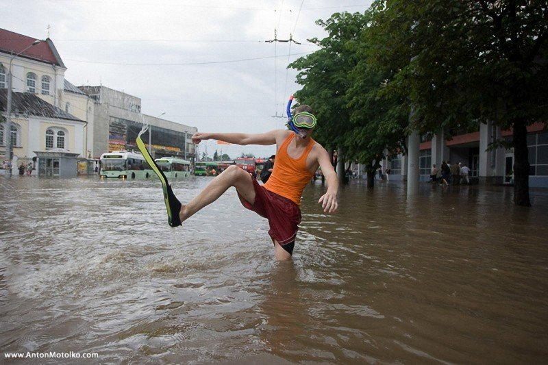 Праздников казахстана, прикольные картинки про потоп
