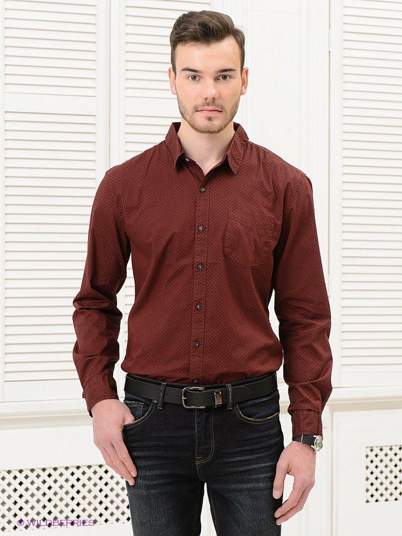 Классическая рубашка, выполненная из натурального хлопка