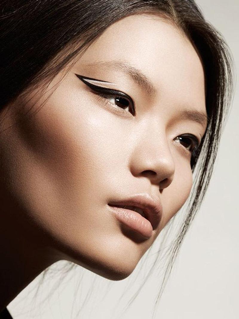 макияж на глазах фото для азиаток самые интересные