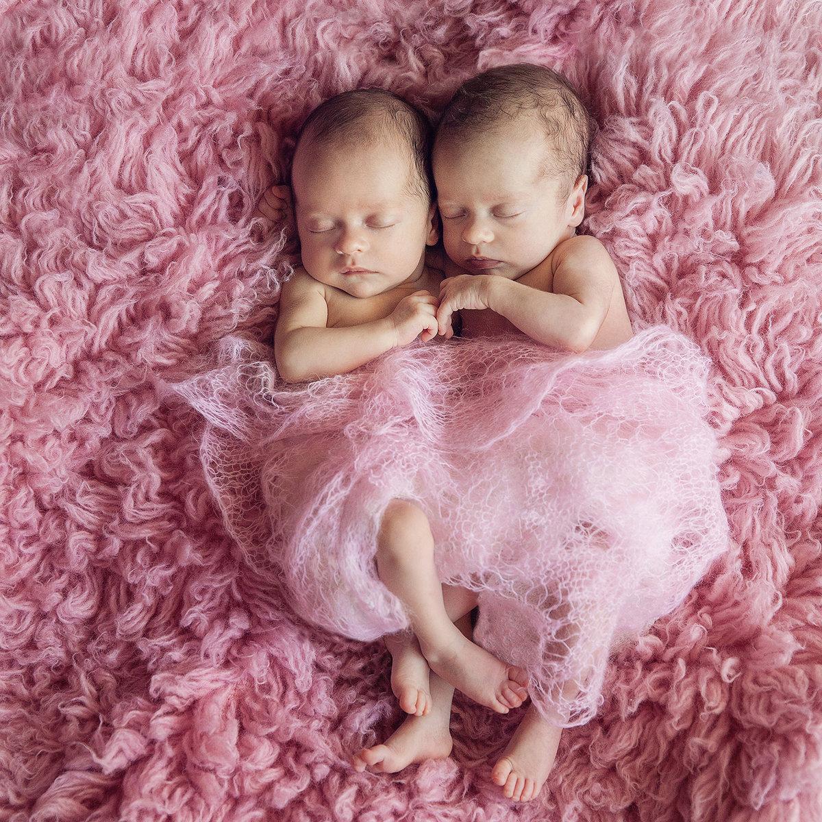 Картинки двойняшек девочек новорожденных