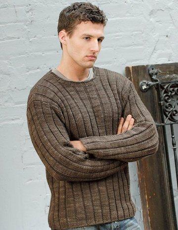 вязание свитера английской резинкой по схеме для начинающих мастериц