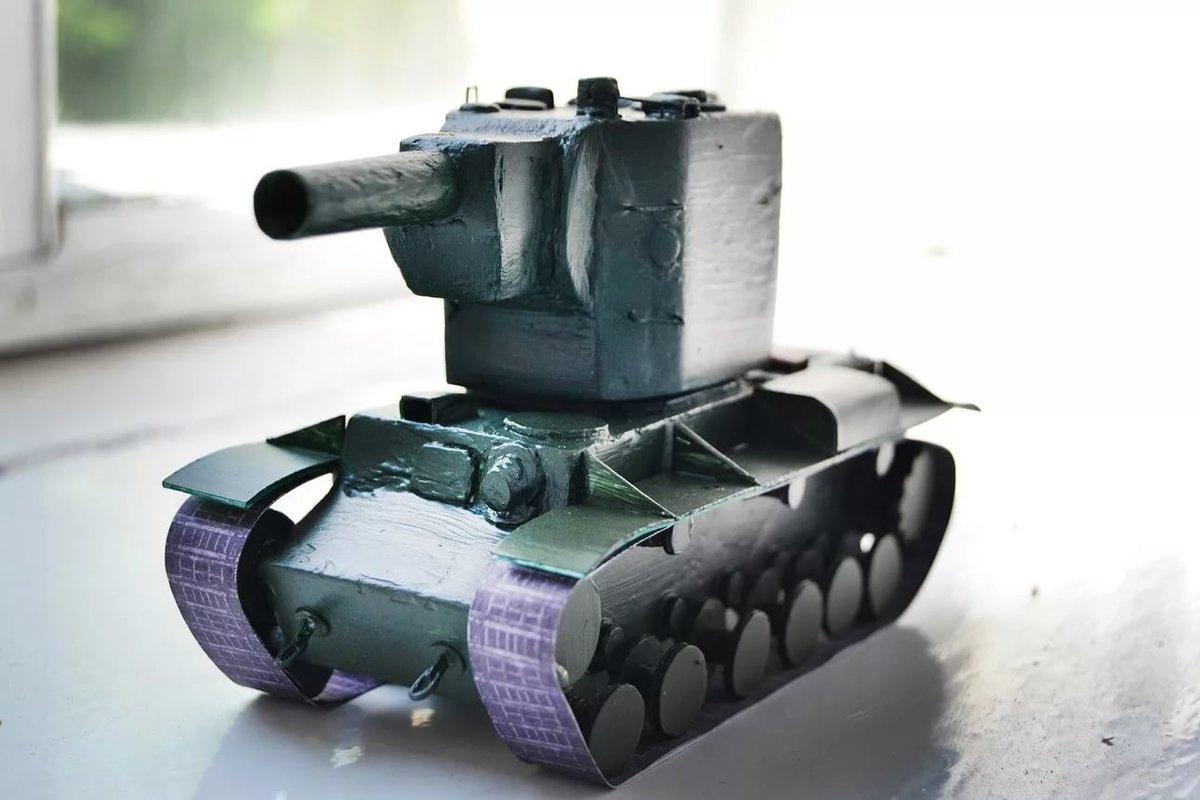 фото танка из бумаги бояться