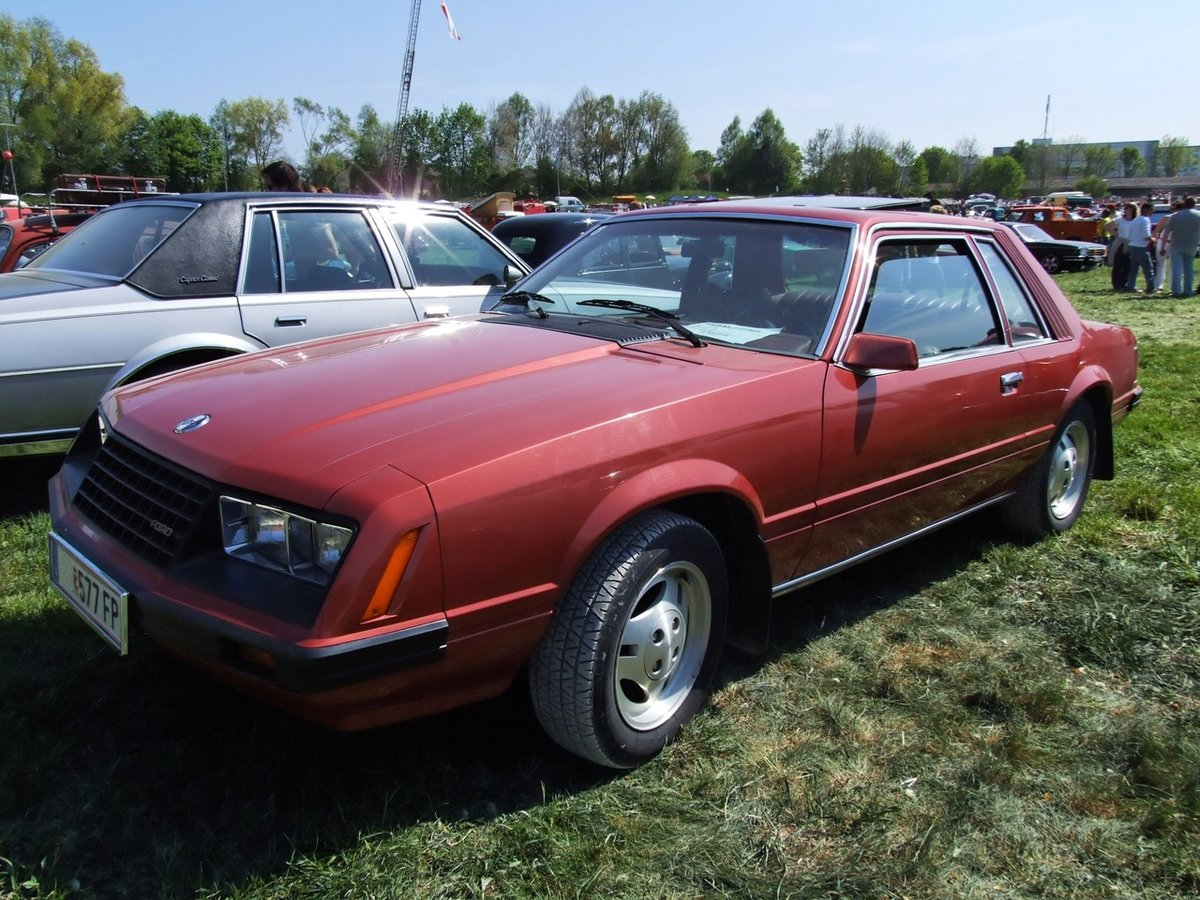 Quot 1979 Ford Probe I Ghia Quot Card From User Stmikey In