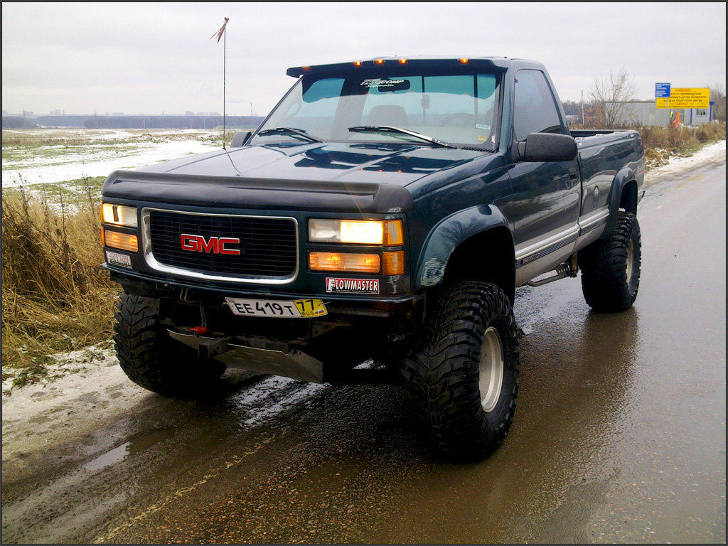 """GMC Sierra"" — card from user malinioss in Yandex.Collections"
