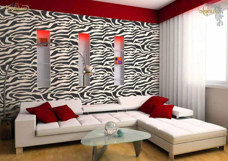 Принт «зебра» в интерьере: главное — не переборщить