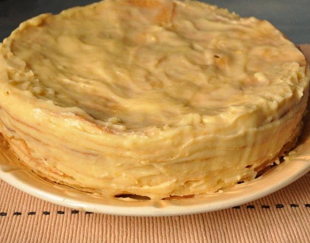 классический заварной крем пошаговый рецепт с фото