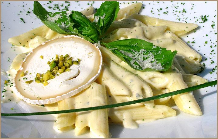 Сливочный соус с сыром для спагетти
