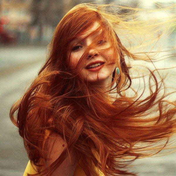 Волосы развивающиеся