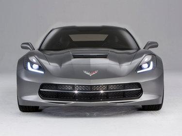 chevrolet corvette stingray c7 grey
