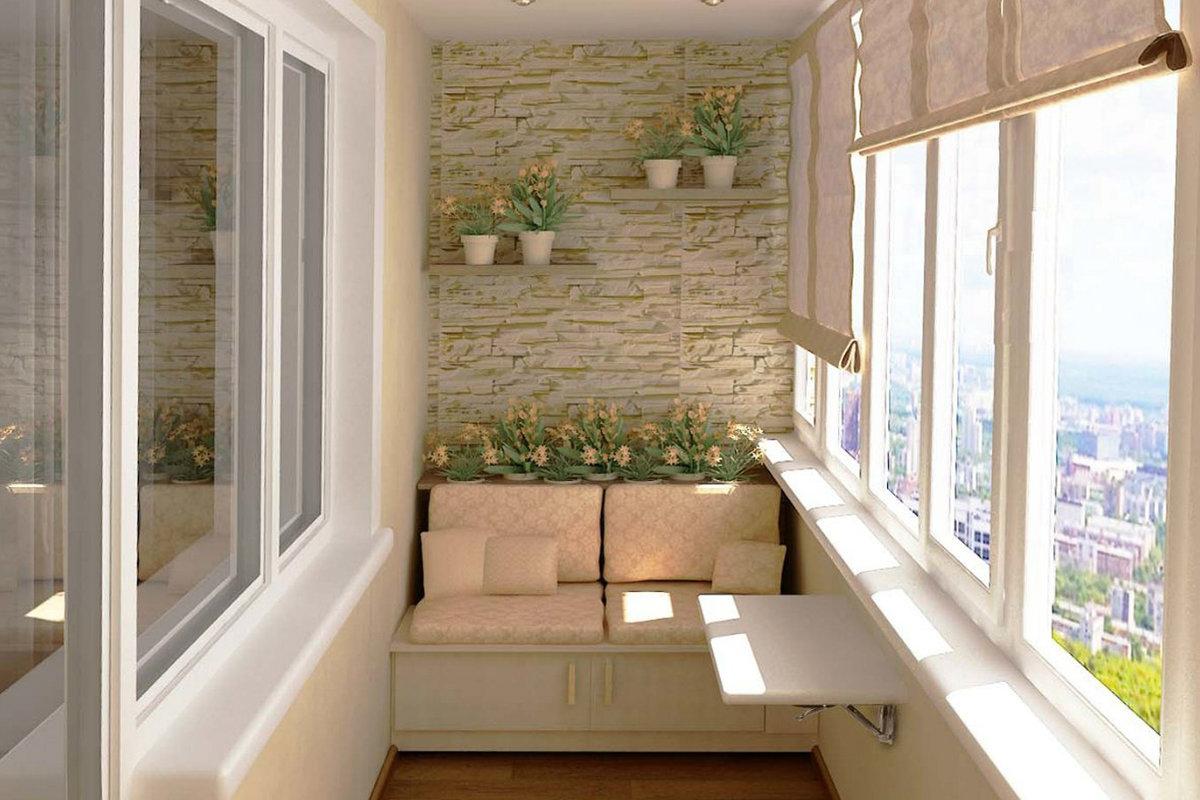 """Балкон отделанный камнем"""" - карточка пользователя privat45 в."""