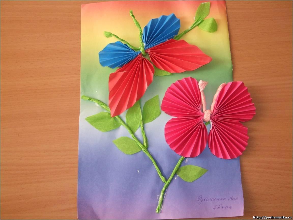 День рождения, открытка гармошка своими руками на 8 марта