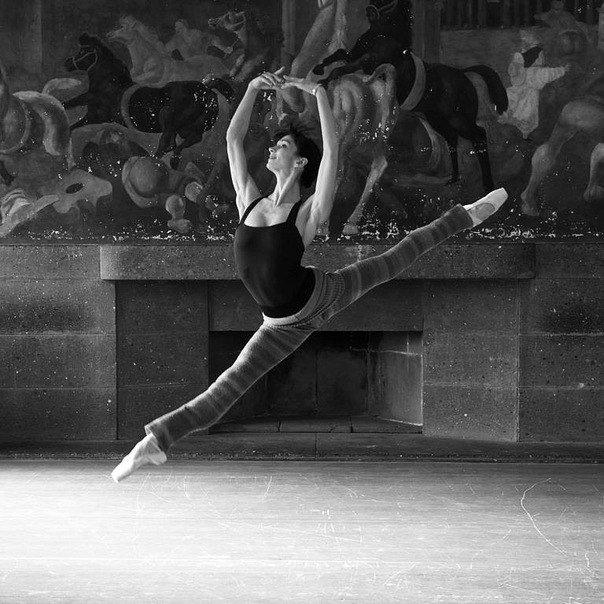 балерины и гимнастки очень
