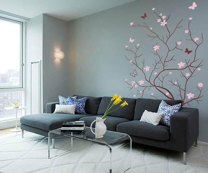 Серый цвет в дизайне интерьера серые интерьеры фото