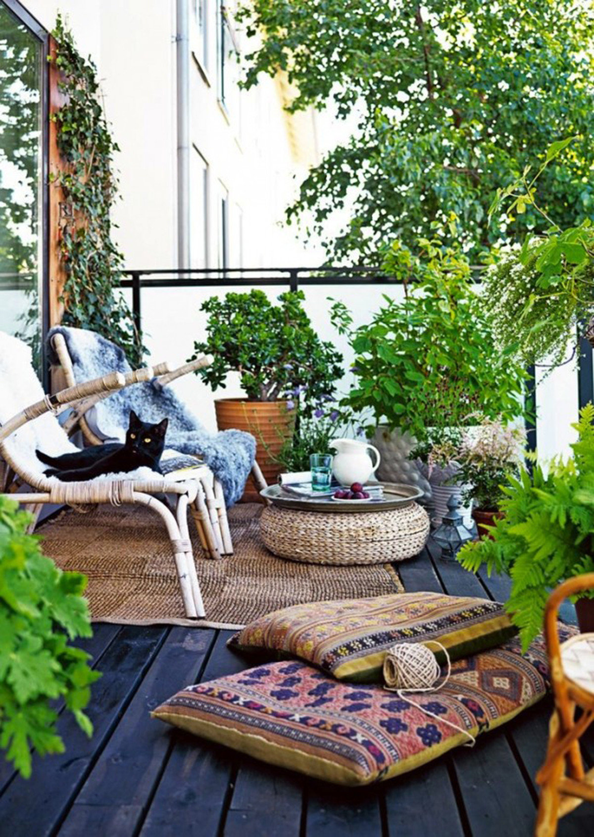 Astounding balcony garden idea 58 on modern decoration desig.
