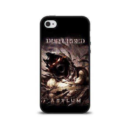 Чехол для Apple iPhone 4/4S силиконовый Disturbed