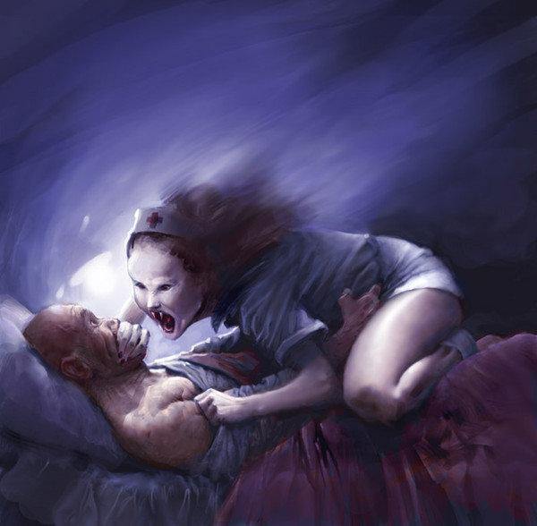 Страшная картинка просыпайся