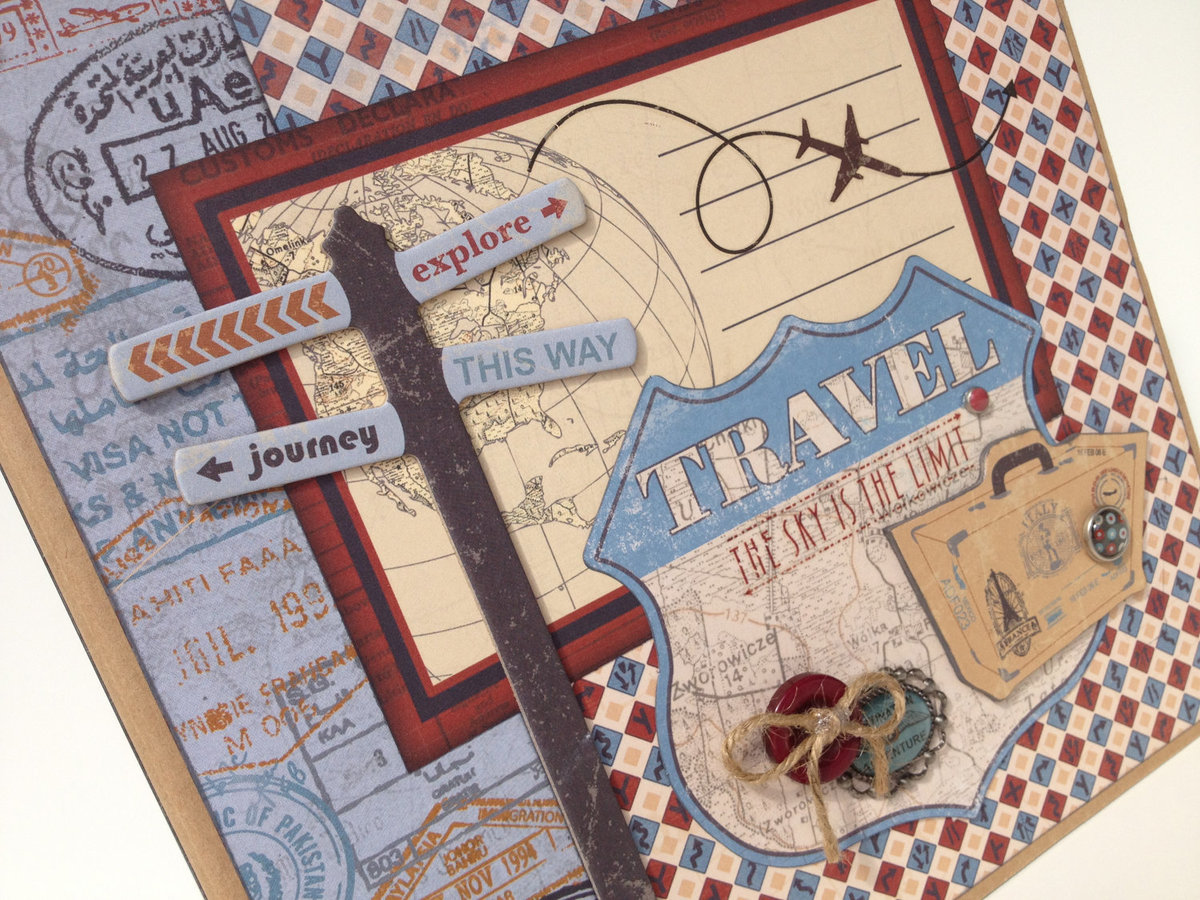 Надпись на открытке из путешествия, надписями