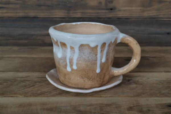 Вазончик для суккулентов (растений)     керамика ручной работы