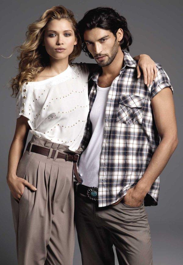 фото постер реклама европейской одежды разу