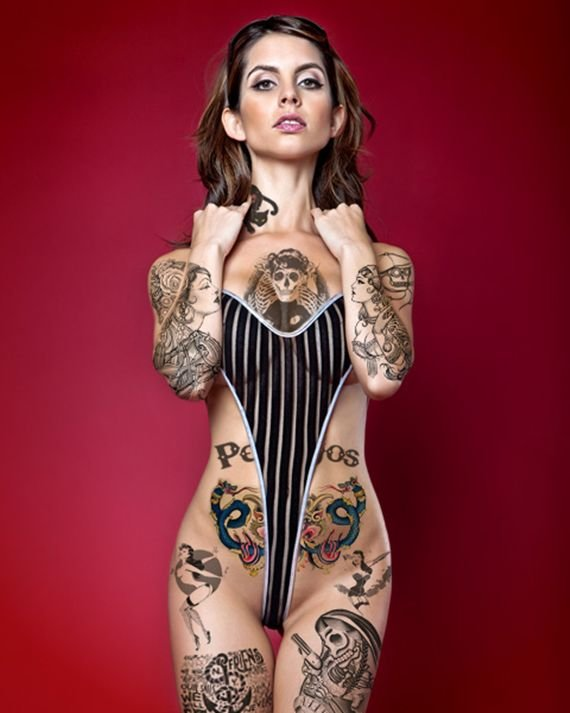 Yahoo groups full body tattoo on naked women
