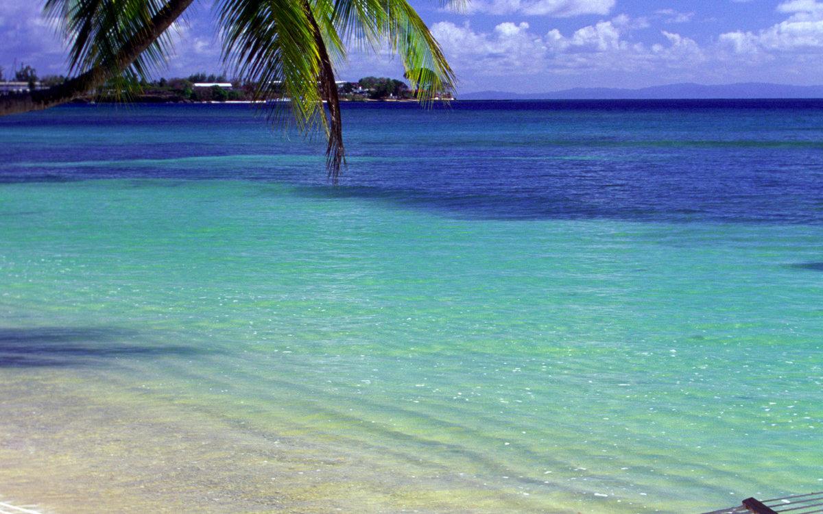 это картинки карибский пляж такие