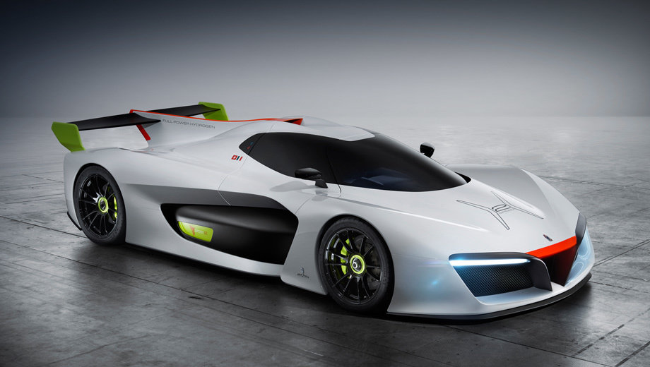 Концепт Pininfarina H2 Speed скрестил водород со спортом
