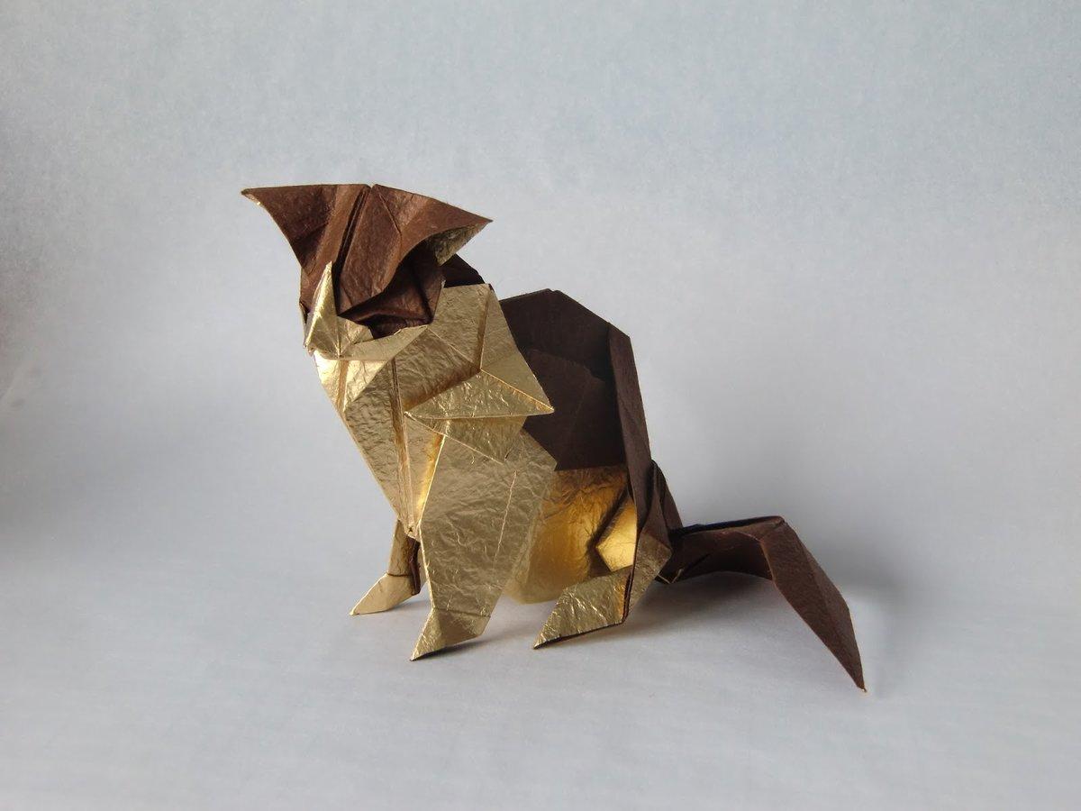 Сережи 150, фигурки оригами картинки