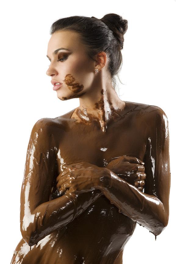красивая попка обмазанная маслом - 14