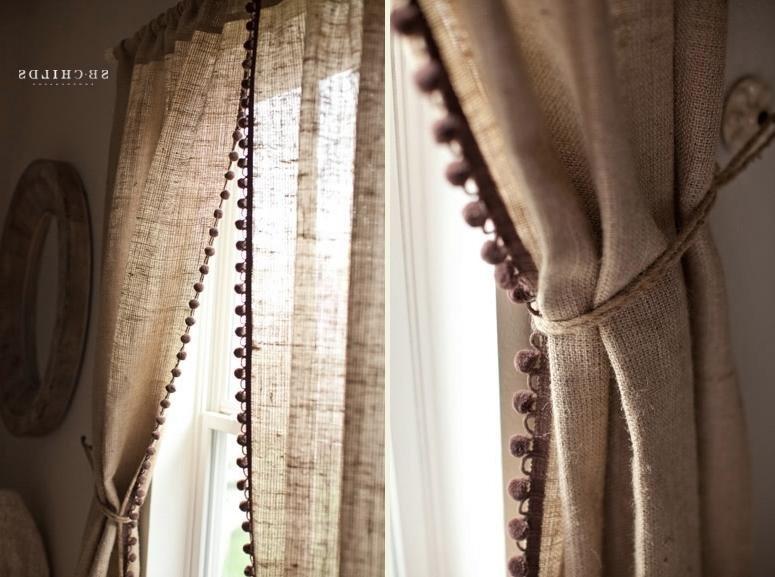 Тульский шторы лен в косичку тем