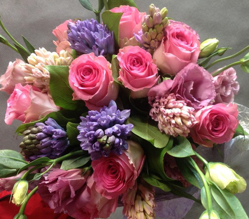 научимся супер красивый букет цветов фото нашей