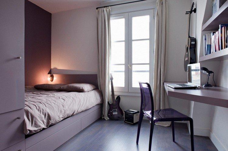 Спальня для музыканта