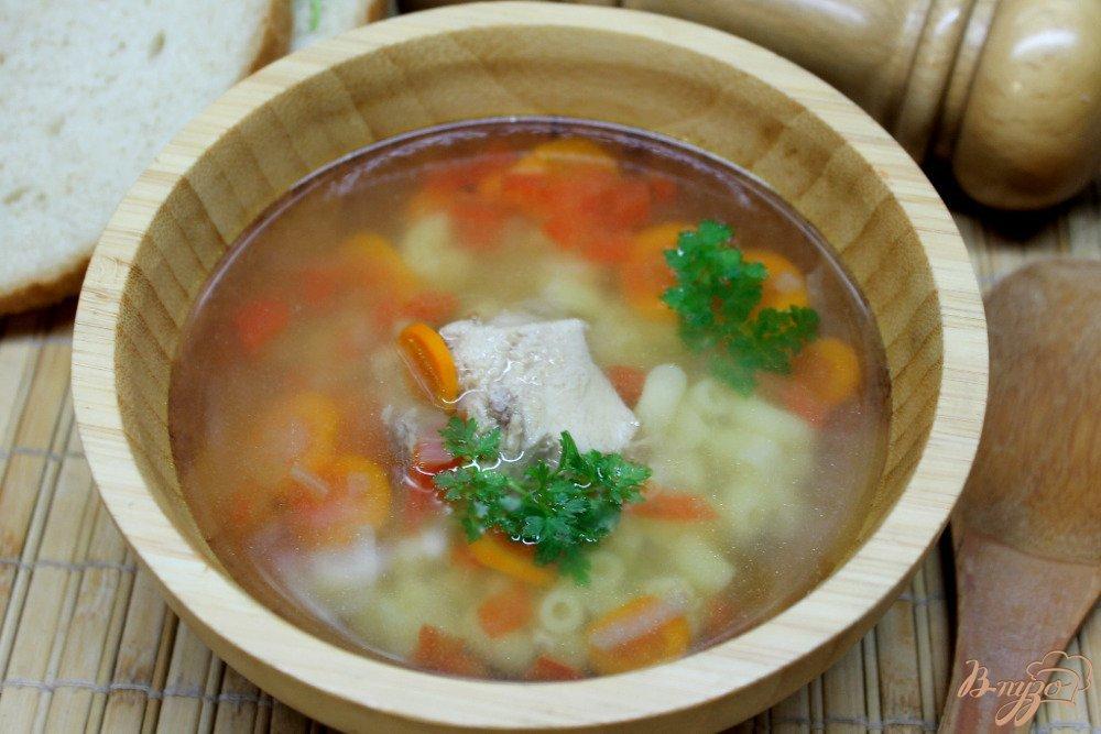суп из мяса и картошки и капусты